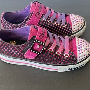 Skechers Twinkle Toes Girls Sparkle Lite Shoes
